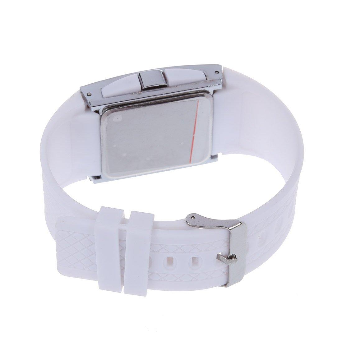 Amazon.com: TOOGOO(R) 2015 new led watch luxury fashion men womens Digital Sport strap wristwatch for ladies dress watches clock-All White: Watches