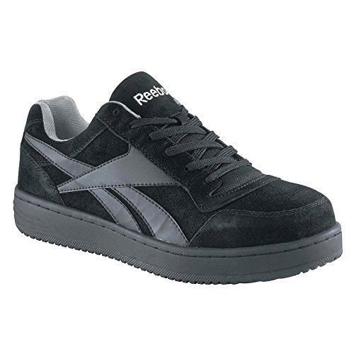 Shoes Upper Work Type Men's 11 Leather Steel Size Athletic Style Black RB1910 11M Material Toe Reebok xw4PqYgz