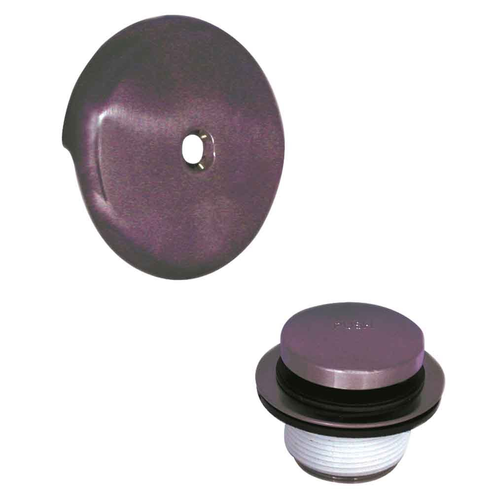 Danco 89393 Touch-Toe Tub Drain Trim Kit with Overflow, Oil Rubbed Bronze