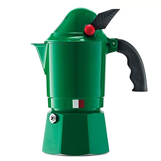 DGKNJ Cafetera Italiana de Aluminio Mocha Cafetera Hogar café Moka ...