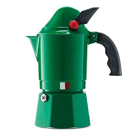 DGKNJ Cafetera Italiana de Aluminio Mocha Cafetera Hogar ...