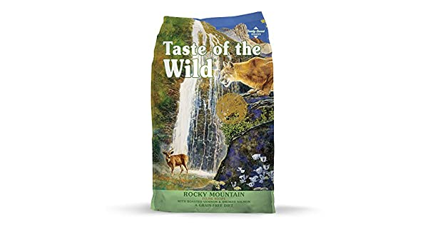 Taste of the Wild Rocky Mountain feline pienso para gatos: Amazon ...