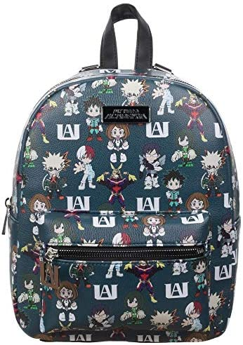 My Hero Academia Toss Print Mini Backpack / My Hero Academia Toss Print Mini Backpack