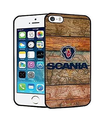 Iphone 5s SE Phone Case CAR Scania Logo Customized Case for Iphone 5