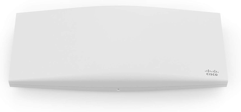 Meraki MR46 Indoor Wi-Fi 6 802.11ax with Multigigabit Ethernet and Security Radio Access Point and 1 Year Enterprise License (MR46-HW+LIC-ENT-1YR)
