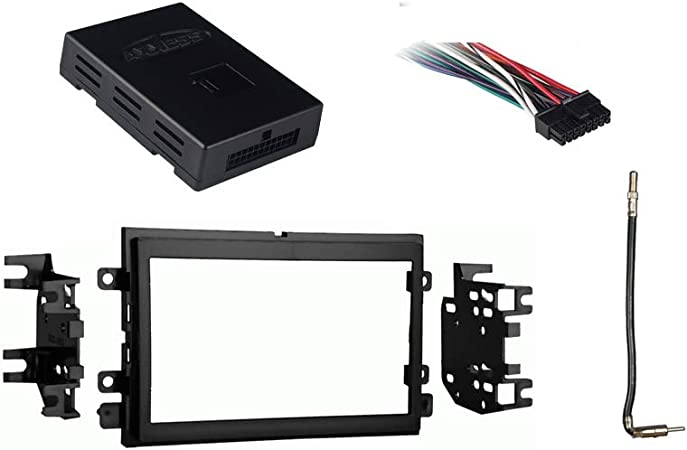Amazon.com: Compatible with Ford F 250 350 450 550 2013 2014 2015 2016  Double DIN Stereo Radio Install Dash Kit New: Car Electronics | 2015 Ford F 250 Radio Wiring Harness |  | Amazon.com