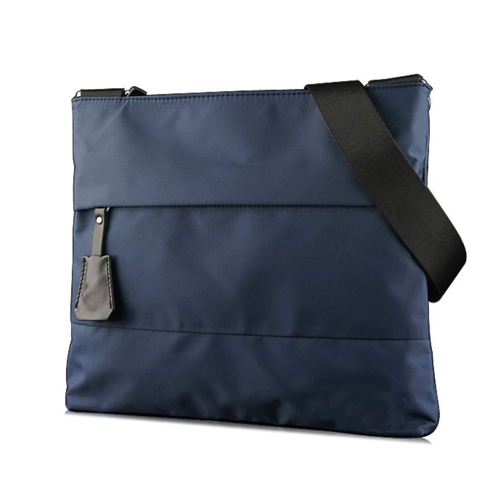 Sacs à bandoulière ZQ Nylon Oxford Sac en Cuir Hommes Casual Messenger Bag Coréen Hommes Sac De Mode Sport Étudiant Sac