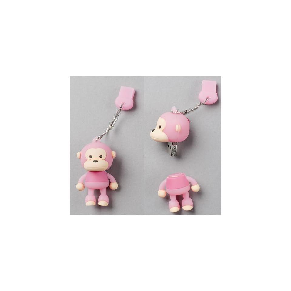 USB Flash Memory Drive(stick/pen/thumb) 4GB Pink Monkey