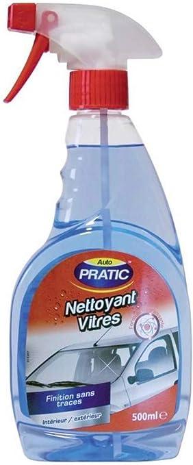AUTO PRATIC - Detergente per vetri Interni ed Esterni, 500 ml