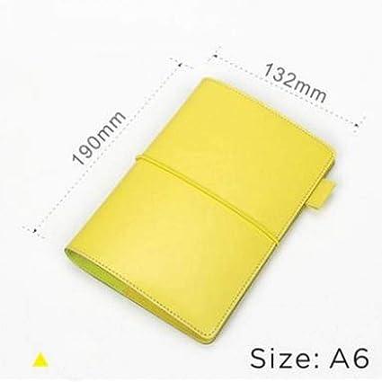 CXYBJB Cuaderno Organizador A5 A6 Cuadernos Y Revistas ...