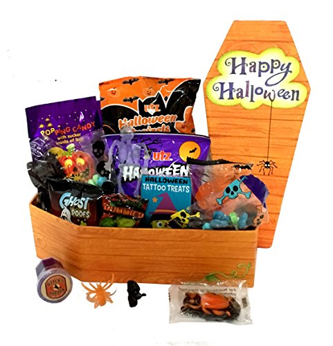 [Happy Halloween Care Package - Campus Care Package - Halloween Gift! Great Gift Basket for Wishing a Happy Halloween! (This Mummy Loves You)] (Halloween Characters Ideas)