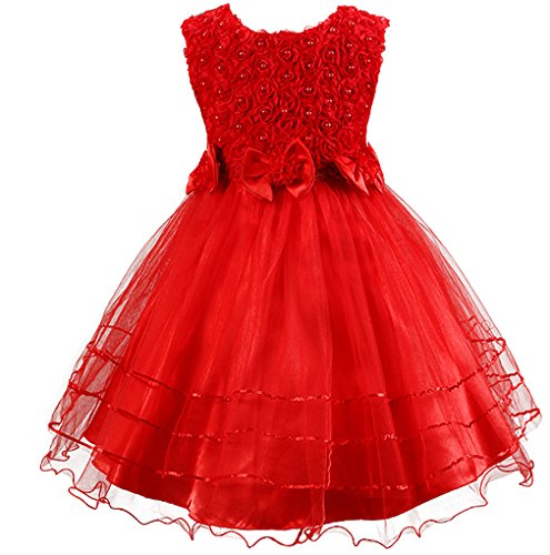 Rose Petal Dress - 7