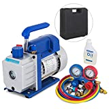 Best C Vacuums - SHZOND Vacuum Pump 3.5CFM 1/4HP Single Stage Air Review