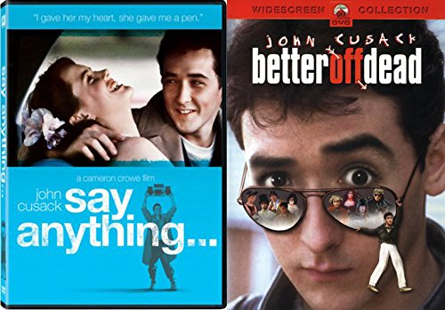 80's John Cusack Classic Combo Pack: Better Off Dead & Say Anything (Double Feature) - Tom Classes Ford