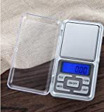 JTHKX Kitchen Scales Mini Electronic Digital Jewelry Scale Balance Pocket Gram Lcd Display Food Diet Postal Kitchen Small Scale,500G