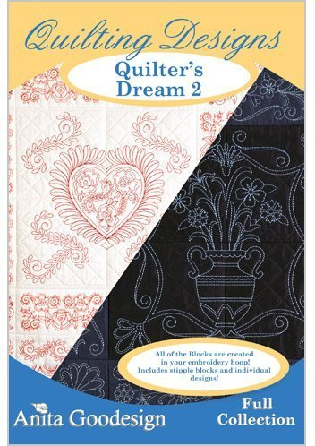 (Anita Goodesign Embroidery Designs CD QUILTERS DREAM 2)