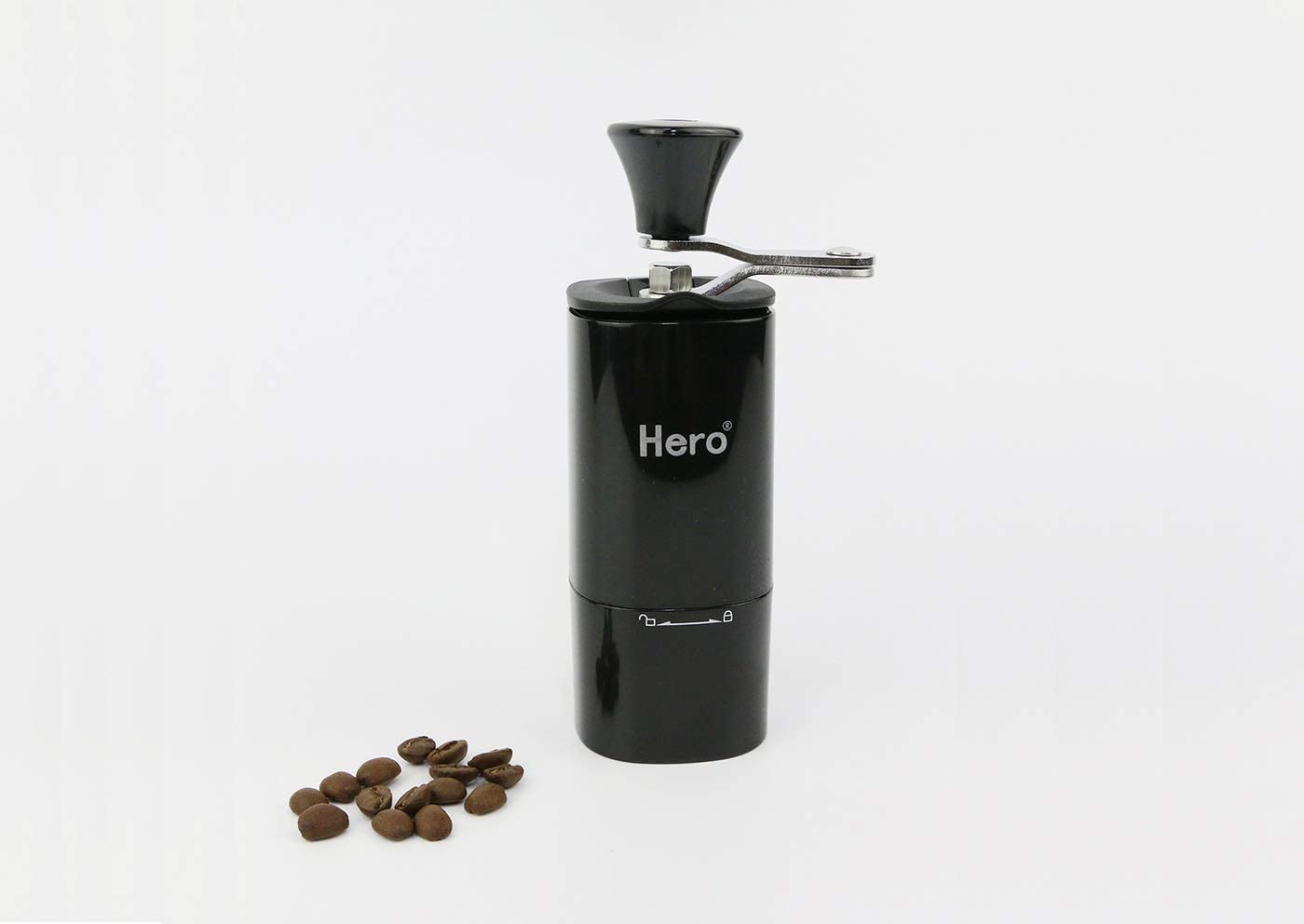 Manual Coffee Grinder - Portable Hand Coffee Mill With Conical Ceramic Burrs and Foldable Handle Super Light Hand Coffee Grinder for Espresso French Press, Cold Brew, Travel Camping