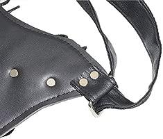 SFIALXC - Bolsa de Espada con Correa para la Cintura, para Disfraz de héroe Ninja o Anime, Puede Contener 2 Espadas/Cuchillos