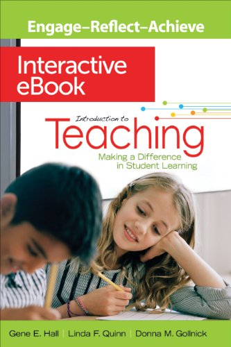Introduction to Teaching Interactive eBook: Making a Difference in Student Learning