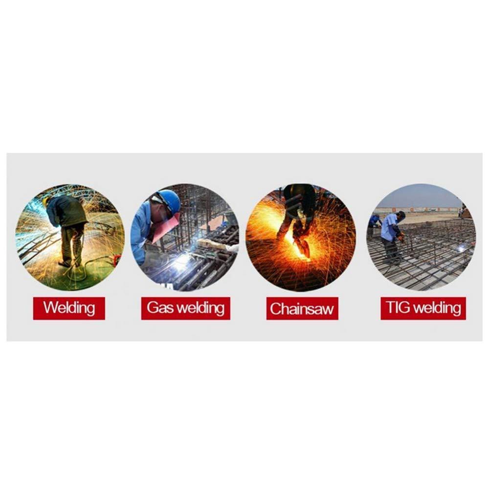 ... Anteojos De Seguridad De Trabajo Gafas, Máscara De Soldadura De Oscurecimiento Automático Gafas Antideslumbrantes Anti-Flama: Amazon.es: Hogar