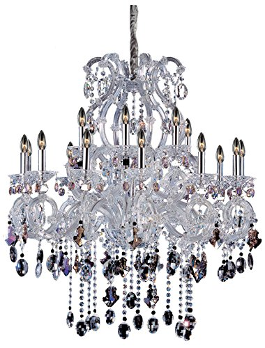 - Allegri 10069-010-FR000 Lorraine 18-Light Chandelier