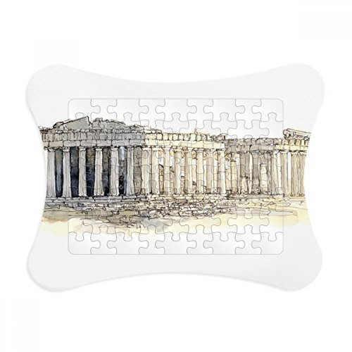 Acropolis of Athens of Greece Paper Card Puzzle Frame Jigsaw Game Home Decoration Gift