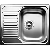 BLANCO TIPO 45 S Mini Top-mount sink - Fregadero (Fregadero sobre encimera, Rectangular, Acero inoxidable, Acero inoxidable, Rectangular, 330 x 420 mm)
