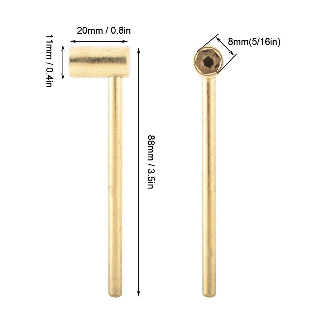 8MM Truss Rod Box Repair Wrench Tool for Gibson Electric Guitar Electric Guitar Repair Wrench Gold