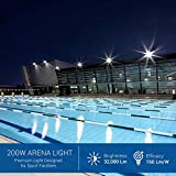 Hyperikon Pro LED Stadium Light, 200W Outdoor Arena
