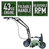 Sportsman Earth Series 2-Cycle 43cc Gas Edger with Recoil Start
