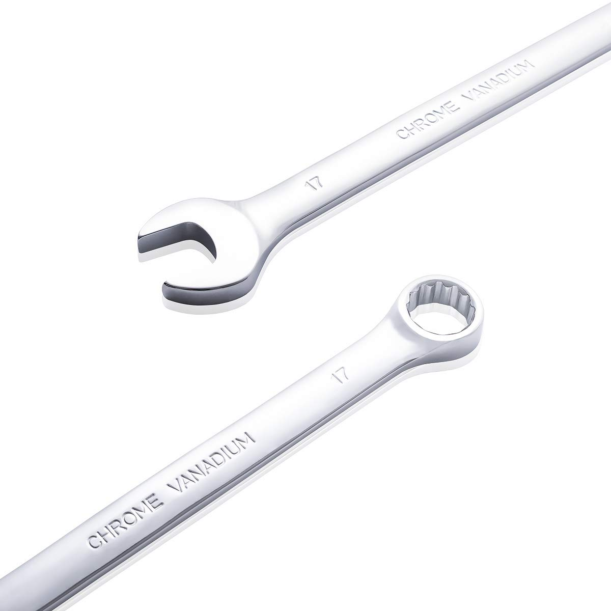 FINDER BS192183D Combination Wrench Open and Box End Metric Spanner Set of 10pcs 8mm-24mm