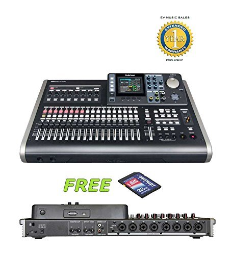 Tascam DP-24SD Digital Portastudio with a Free 32GB Patriot SD Card and 1 Year Free Extended Warranty ()