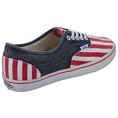 Vans - Zapatillas para hombre rojo-blanco-azul