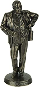 Veronese Design British Prime Minister Winston Churchill Bronze Finished Statue