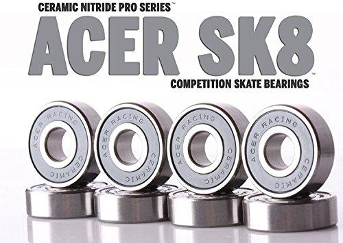 Ceramic Skate Bearings (Roller Ceramic Bearings Skate)