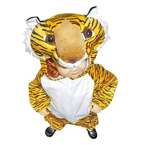 Last Minute Toddler Halloween Costume Ideas (Fantasy World Tiger Halloween Costume f. Toddlers/Boys/Girls, Size: 3t, An28)