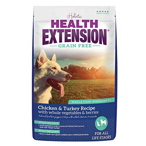 Health Extension Grain Free Chicken & Turkey Recipe, 4-Pounds ()