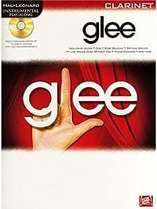 Instrumental Play-Along: Glee (Clarinet). Partituras, CD para Clarinete