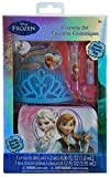 Granny's (C) Disney Frozen Elsa and Anna Cosmetic and Hair 6 Piece Gift Set with Tiara and Beauty Bag