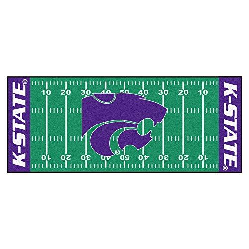 FANMATS NCAA Kansas State University Wildcats Nylon Face Football Field Runner
