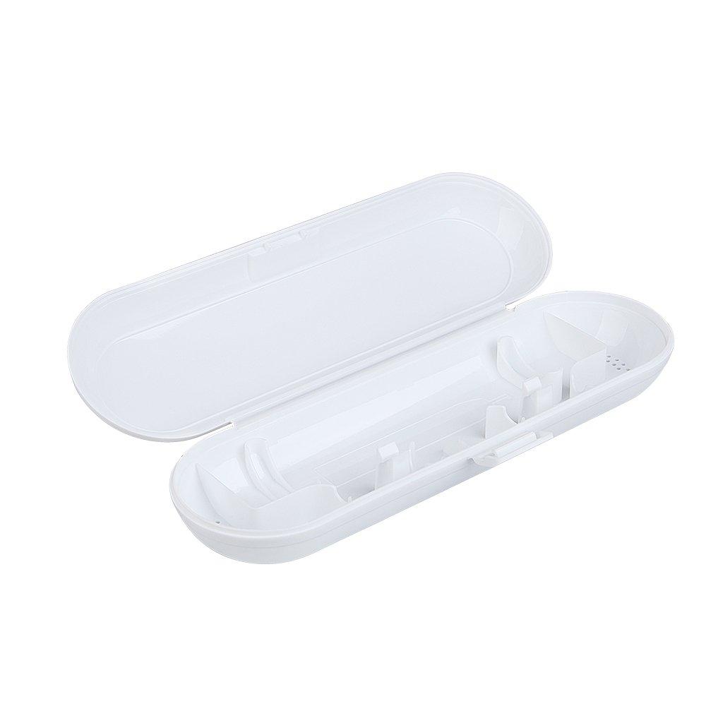 Morepack Oral-B - Estuche de viaje para cepillos de dientes Oral B Pulsonic Slim Sonic Cepillo de dientes para Oral-B 1 ranura de mano y 2 ranuras para ...