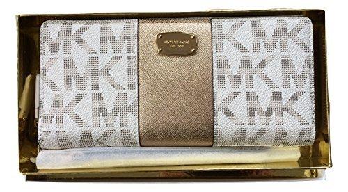 michael-kors-gift-box-center-stripe-continental-travel-wallet-vanilla-pale-gold