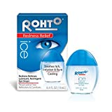 Rohto Ice Redness Relief Eye Drops, 0.43 oz by Mentholatum (Pack of 3)