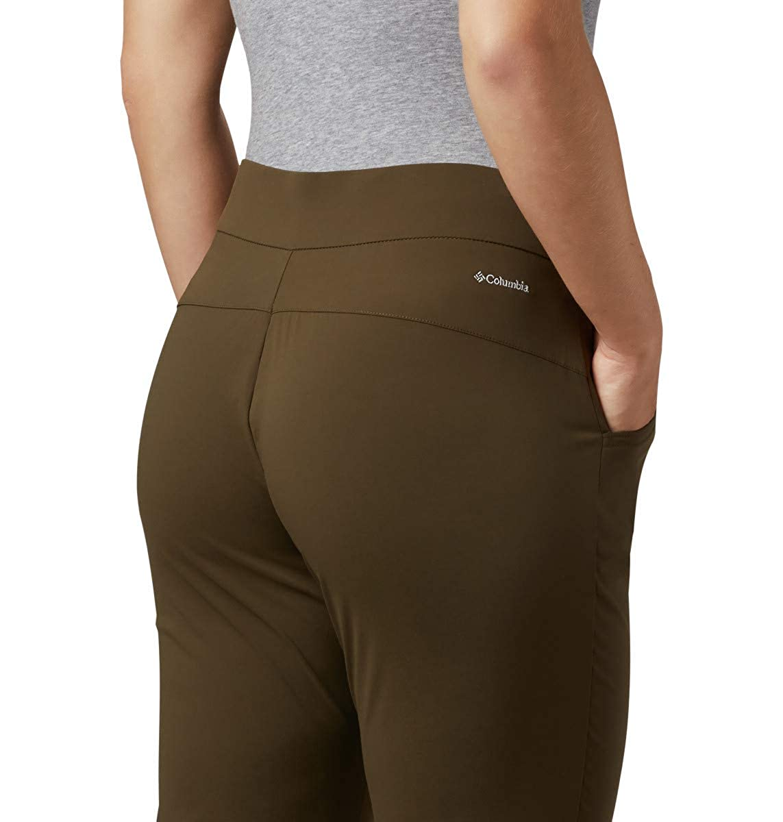 Columbia Womens Anytime Casual Pull On Pant w//UPF 50 Pants