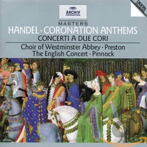 Handel: Oklahoma City Mall Coronation Anthems; Concerti Cori A Due Boston Mall