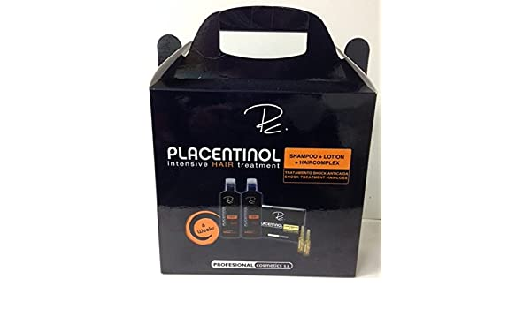 Amazon.com: Placentinol Intensive Hair Treatment Kit: Health & Personal Care