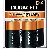 Duracell - CopperTop D Alkaline Batteries - long