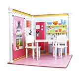 Bedroom and Kitchen Interchangeable 18 Inch Dollhouse Playscape