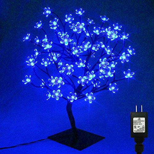 Blue Led Light Tree - 6
