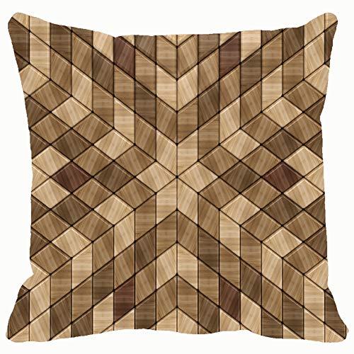 - DWone Hat 3 d Wooden Lattice Multi Backgrounds Textures Geometric Backgrounds Textures Decorative Pillow Case Home Decor Pillowcase (18x18 Inches) Colourful